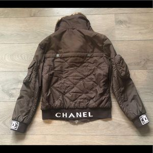 Very rare! Vintage Chanel bomber jacket with CC